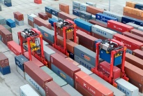 New equipment of Kalmar will go to the port of St. Petersburg in 2018